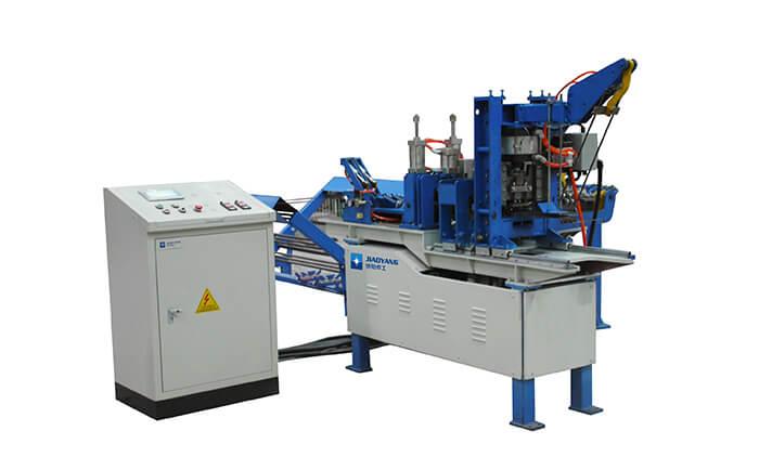 横拉笼门网焊接生产线