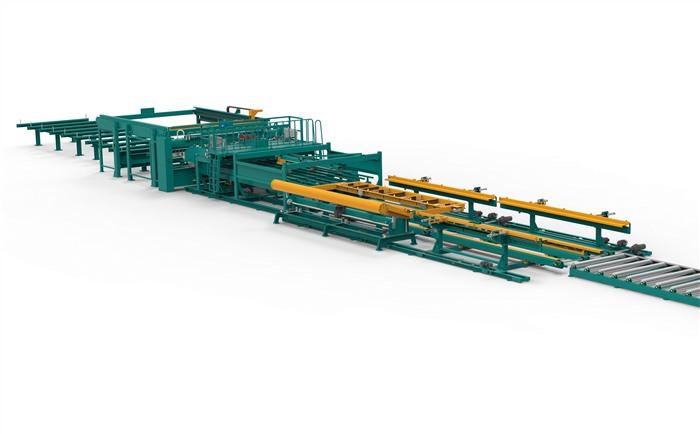 全自动钢筋网焊接生产线II