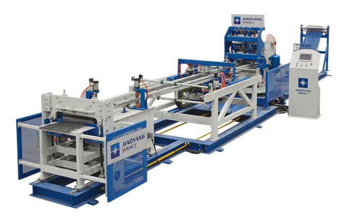 养殖笼隔网焊接生产线