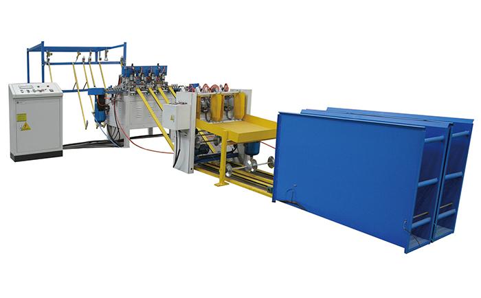 砖带网焊接生产线