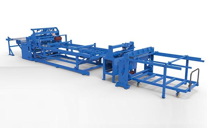 养殖网焊接生产线