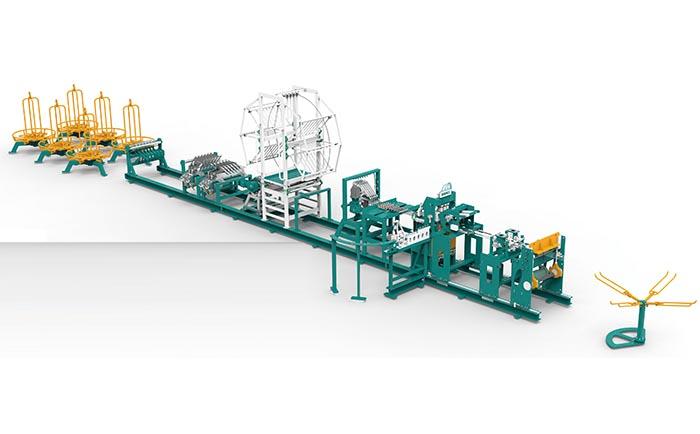 横拉笼门网焊接生产线II