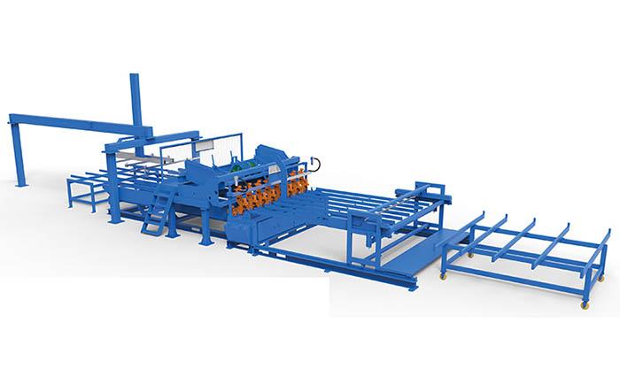 358防爬网焊接生产线